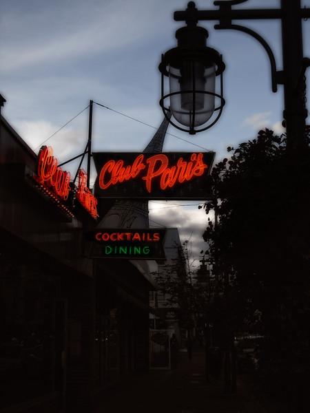 Anchorage noir at Club Paris.