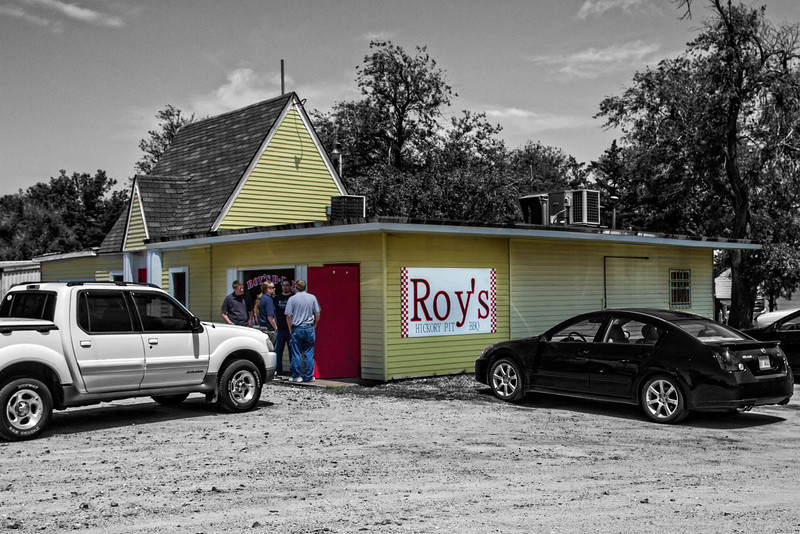 """The daily line-up for the really good barbecue at Roy's in Hutchinson, Kansas. <a href=""""http://www.roysbbq.com/"""">http://www.roysbbq.com/</a>"""