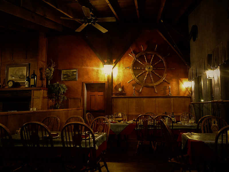 Our favorite restaurant, the Wheelhouse, on the Oregon coast.  This is where we celebrated our engagement!