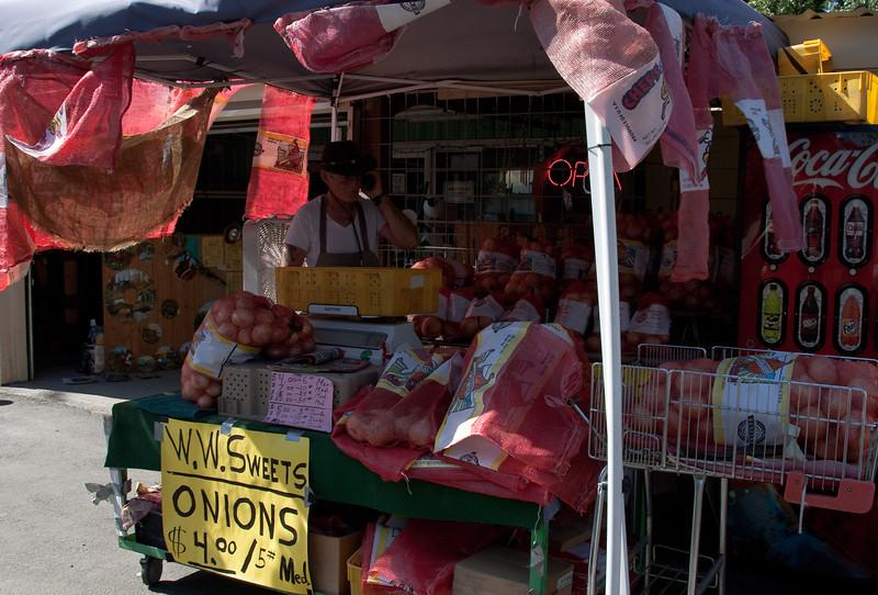 Famous Walla Walla onions in eastern Washington.