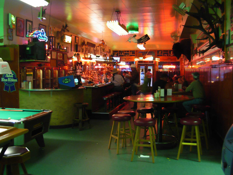 """Great food and good beer can be had at the historic Rainbow Cafe in Pendleton, Oregon, serving since 1883.  <a href=""""http://rainbowcafependleton.com/"""">http://rainbowcafependleton.com/</a>"""