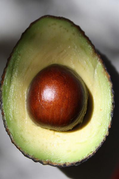 Avocado Pit Detail