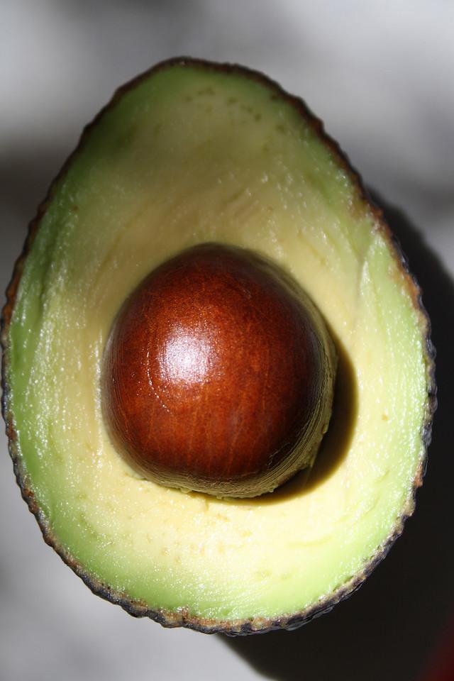 Avocado Pit Detail