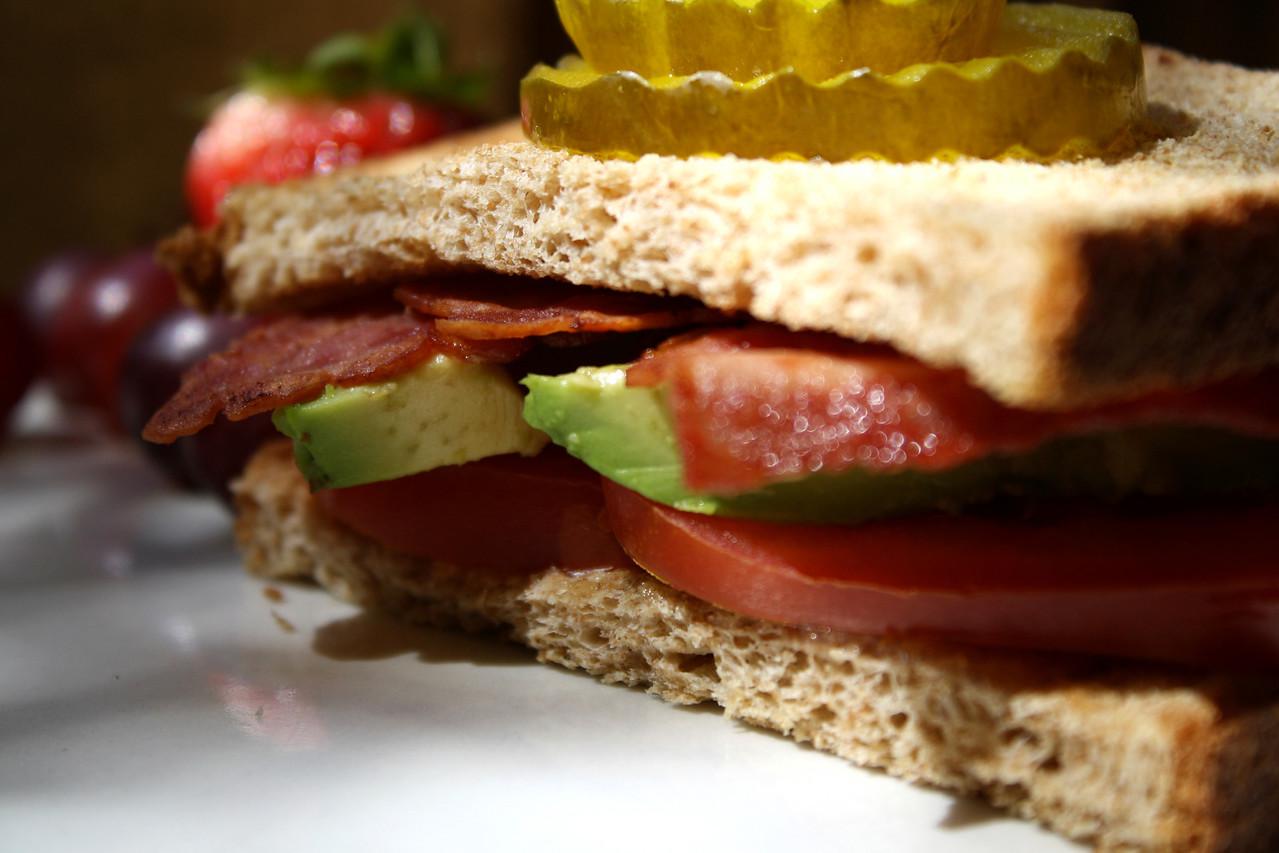 Bacon and Avacado Sandwich