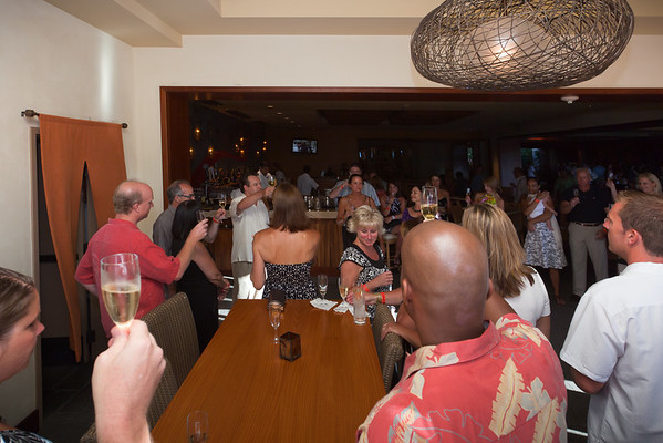 A toast before heading over to The Grand Tasting