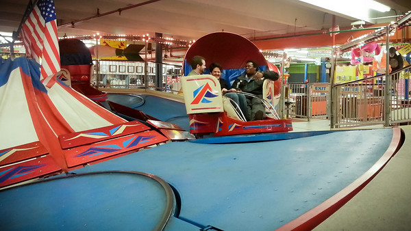 I head over to Redondo Fun Factory with Justin, Dimitry, Onur, Cosmo, Mark, and Ben