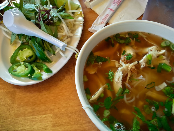Pho Ga from Pho Show...too heavy on the anise