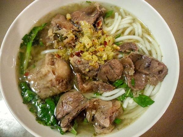 Trang's homemade Bun Bo Hue...so good!