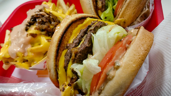 """It's the grilled onions that really make the Double Double shine...gotta love the """"Secret Menu"""""""