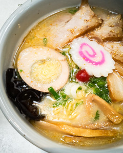 Make up ramen...Santouka's shio chashu ramen never disappoints