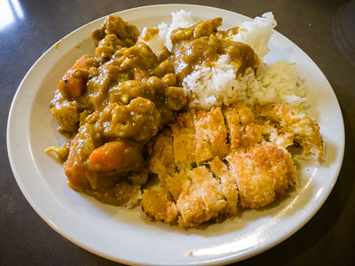 Another round of tonkatsu curry?  Yes, please!