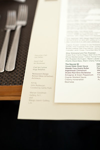Credits on the menu...I should have stopped down for a little more depth of field
