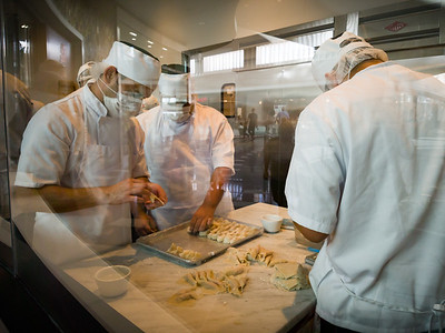 As with other DTF's, you can watch dumplings being made