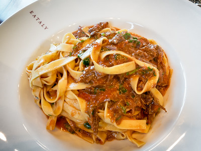 The Tagliatelle al Ragu is supposedly their most popular pasta...and it is indeed delicious. The brisket and the homemade noodles make this one worth a visit.