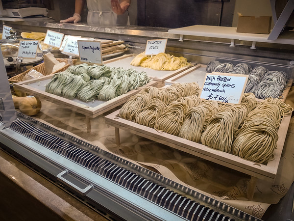 It goes without saying that they have fresh pasta here!
