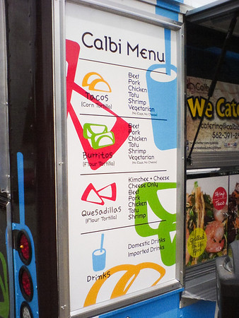 Calbi certainly sports similar fare...and accepts credit cards!