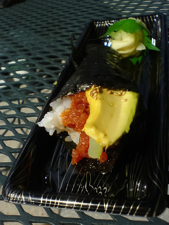 Spicy Tuna Hand Roll from Fishlips is quite tasty.  Added it to my large spicy set for fear I would be hungry later