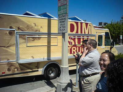 ...the return of the Dim Sum Truck.  This is its first time back at Pennsylvania and 26th since its first day out