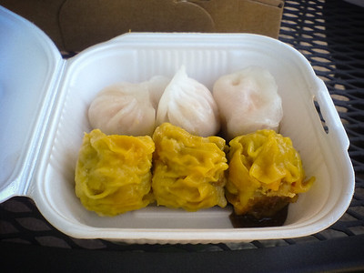 If Dim Sum Truck had steamed pork buns, I would have ordered them as well.  I asked and they do apparently carry them from time to time