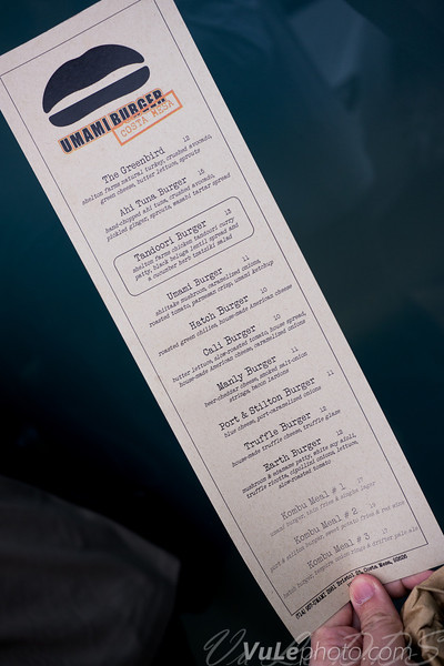 """""""The limited-menu packs """"umami-rich"""" ingredients in every bite, from the Mideast Lamb burger to the sinfully rich Truffle Burger. Burgers cost $10 and up.""""  --Nancy Luna, OC Register"""