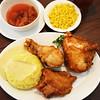 Chicken Dinner at Knott's Berry Farm in Orange County in California