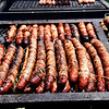 Grilled Sausages at the Orange County Fair