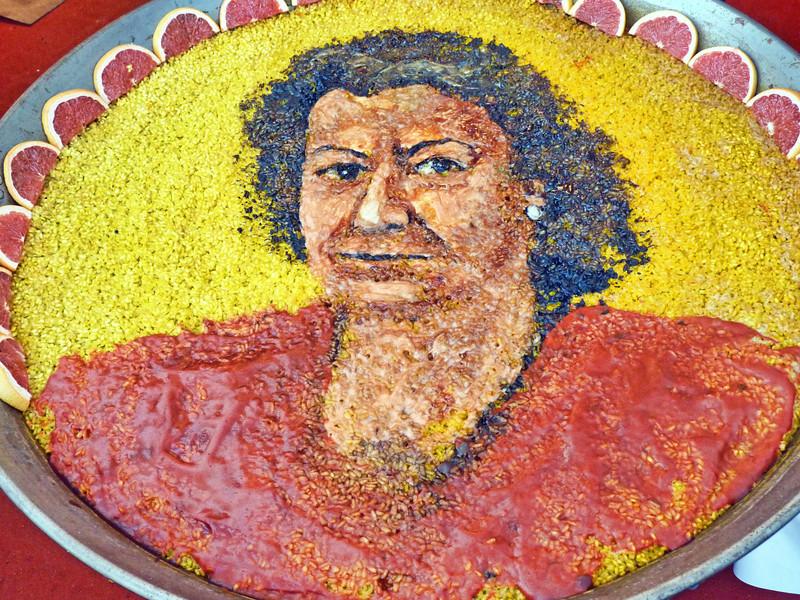 Portrait in paella. Valencia Paella Festival. (09.2011)