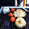 Grilled Onion and Tomatos at the Orange County Fair