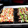 Grilled Shish Kabobs at the Orange County Fair in Costa Mesa CA