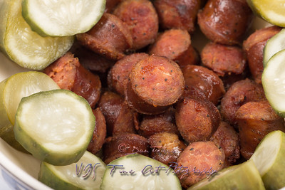 Sausage with Pickels