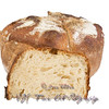 Fresh baked loaf of sour dough bread