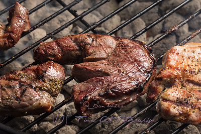 Grilling meats
