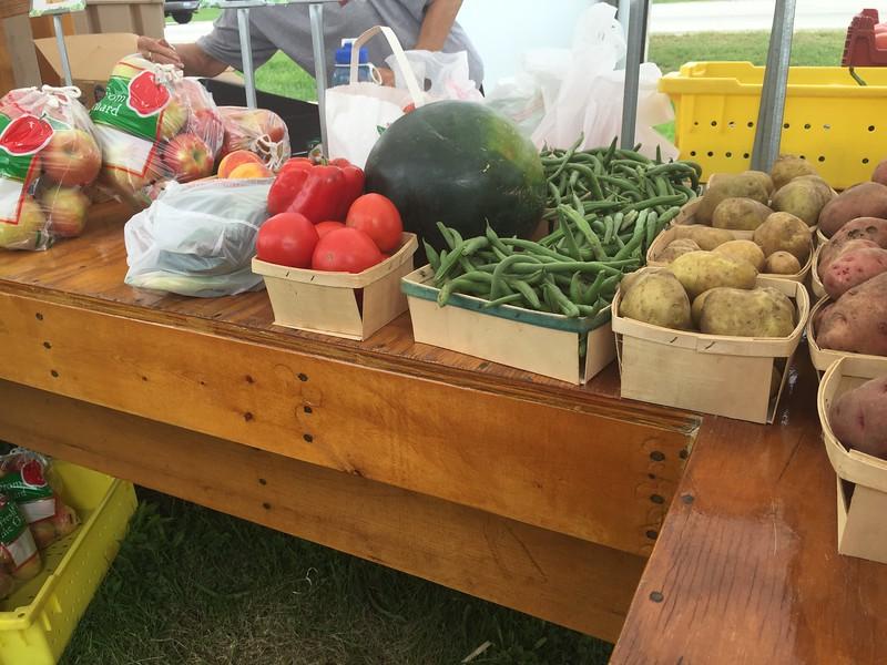 Favorite farm stand, Marengo, IL<br /> Summer 2015