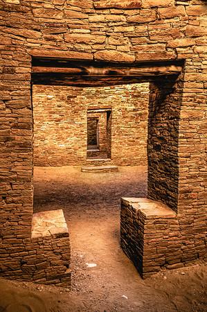 Doorway, Pueblo Bonito