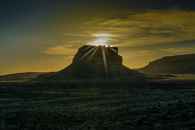 Fajada Butte, Sunrise
