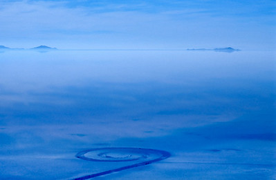 Spiral Jetty 2 Blue