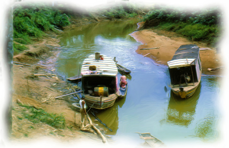 Boats in Bolivia
