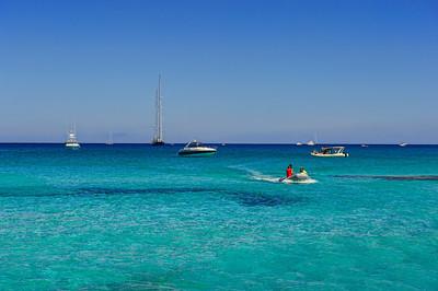 Formentera. Boats.