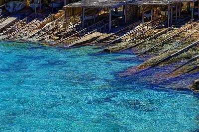 Formentera. Boat launches.