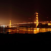 Golden Gate Time Exposure