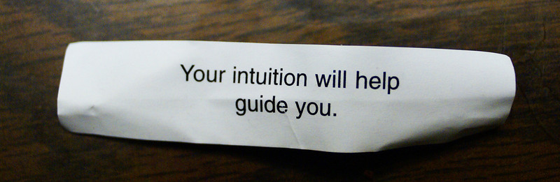 Your intuition will help guide you.