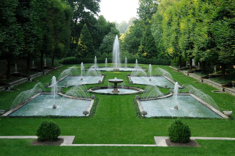 W - Italian Water Garden - Longwood Gardens