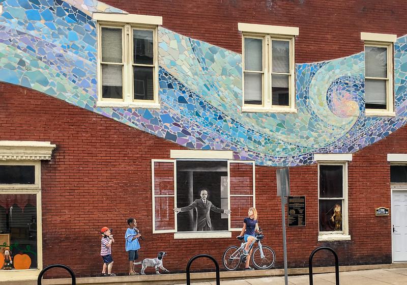 J - Brunswick Street scene