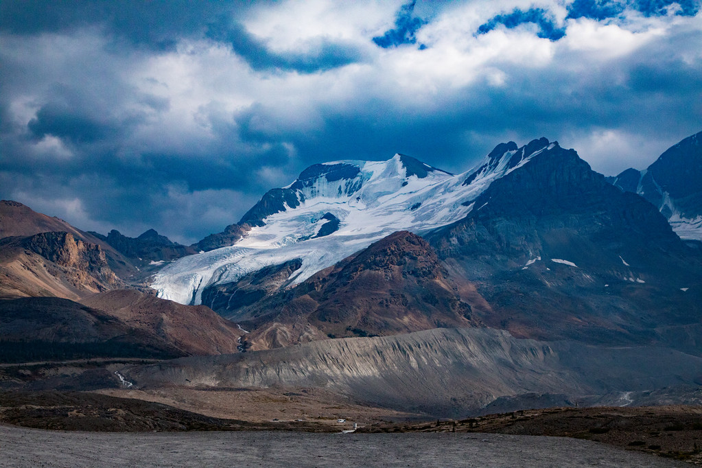 M - Athabasca Glacier, on Icefield Parkway to Jasper
