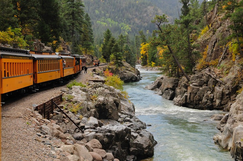 W - Steam train Durango Silverton