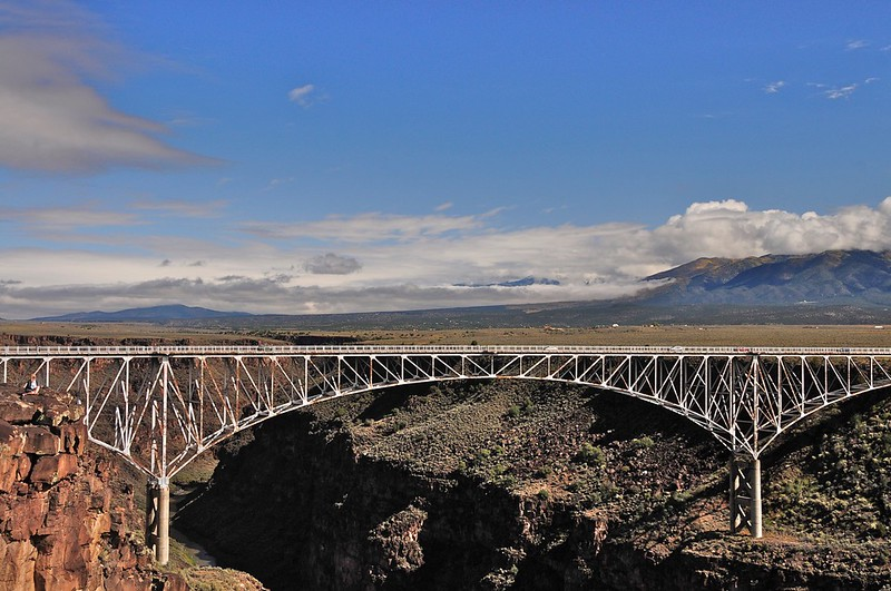 W - Gorge Bridge near Taos