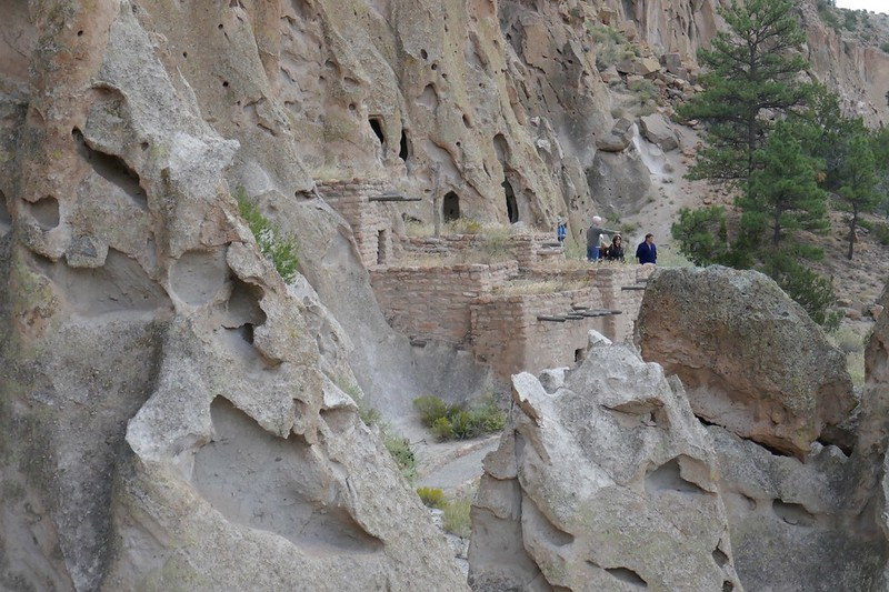 W - Bandelier Cliff Dwellings