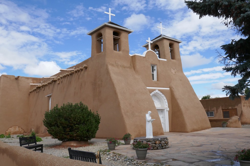 W - Santuario Chimayo high road Taos
