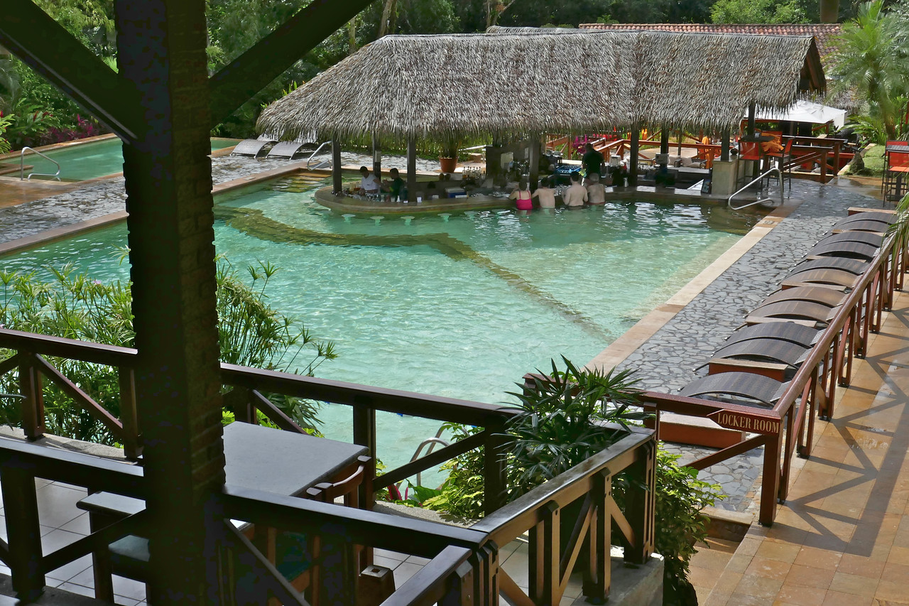 W - Tabacon Resort hot pool