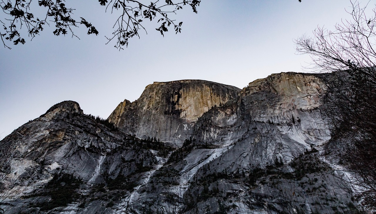 M - Half Dome from Mirror Lake-2